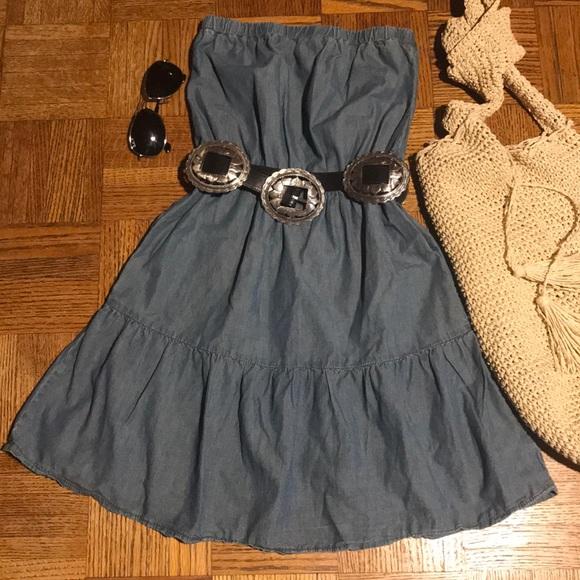Blue Asphalt Dresses & Skirts - Blue Asphalt strapless dress